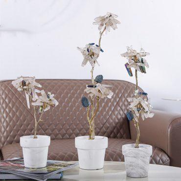 اكسسوارات الورود الايطالية الكريستالية اكسسوارات منزلية