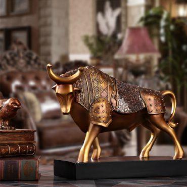 تمثال ثور المبارزات الاسبانية اكسسوارات منزلية