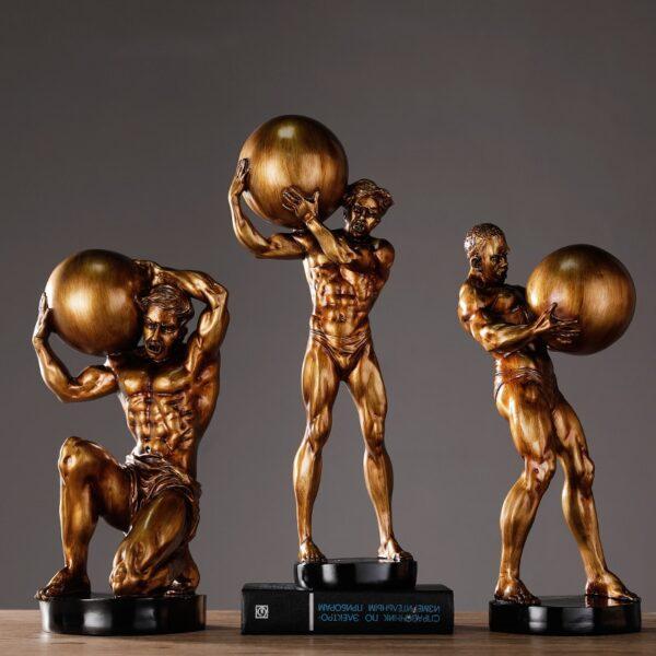 اكسسوار رجل كرة العالم الذهبي اكسسوارات منزلية