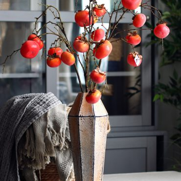فازة الزهور الصناعية التجريدية اكسسوارات منزلية