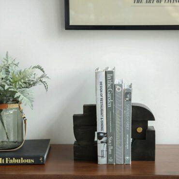 اكسسوارات حامل كتب الحديد القديم اكسسوارات منزلية