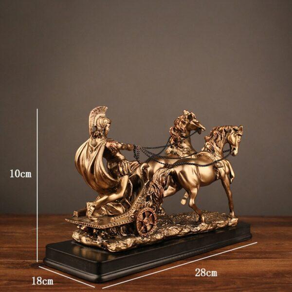 تمثال الاحصنة و الخيال الاوروبي اكسسوارات ديكور اكسسوارات منزلية