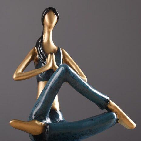 تمثال رياضة اليوغا الامريكي ديكور و اكسسوارات