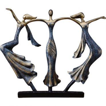 تمثال الفتيات الاوروبيات الراقصات ديكور و اكسسوارات