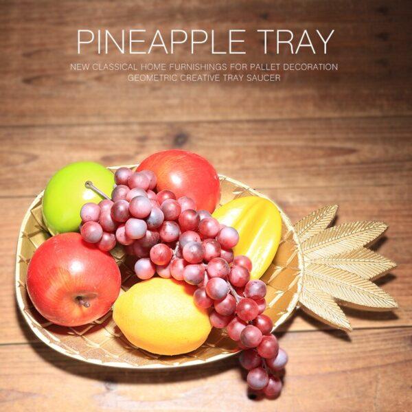 طبق الاناناس الفاكهة المجففة ديكور و اكسسوارات
