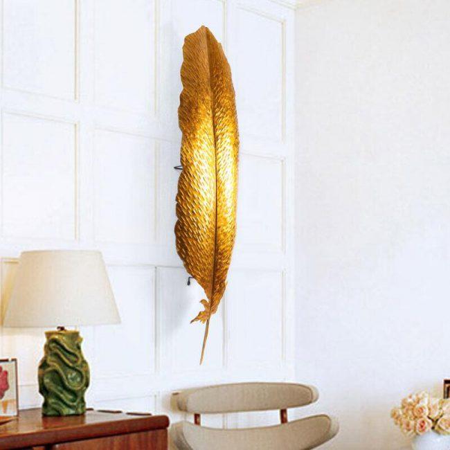 ورق النبات ثلاثي الابعاد اكسسوارات جدارية اكسسوارات جدارية