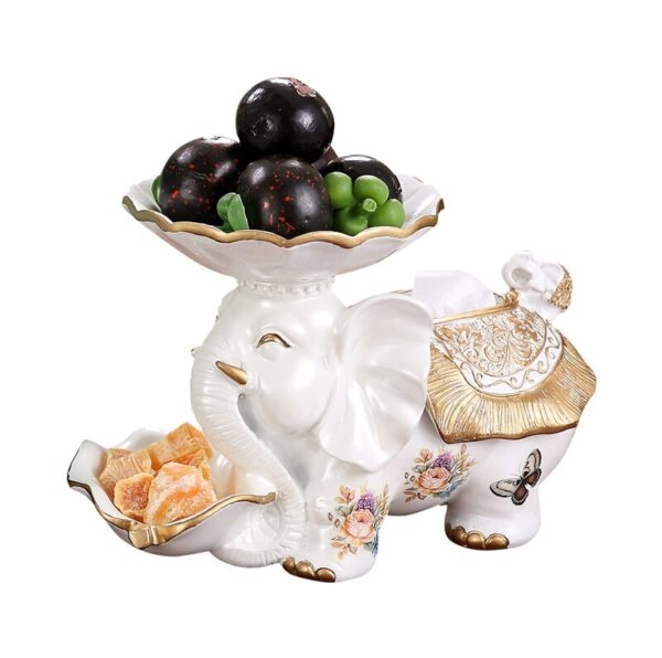 تمثال فيل الفاكهة متعدد الوظائف ديكور و اكسسوارات