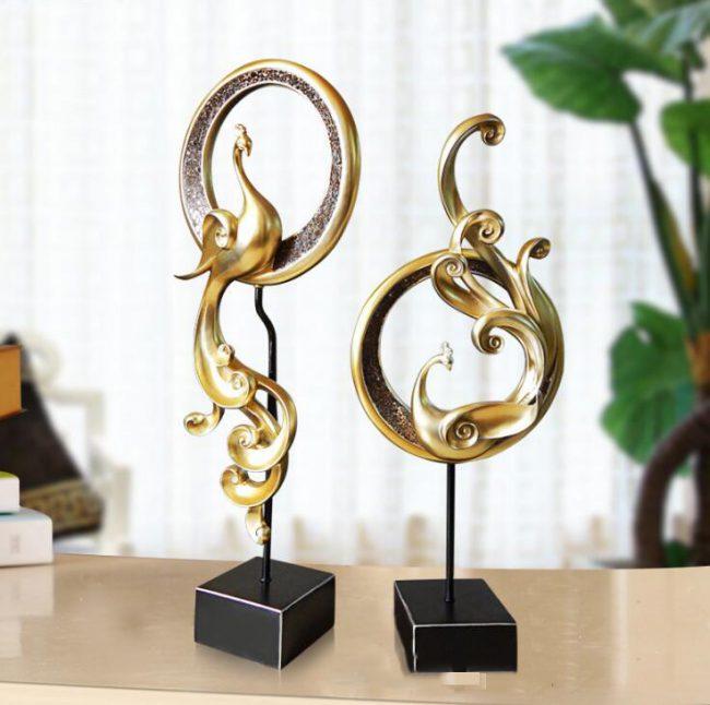تمثال طائر الفونيكس النحتي ديكور و اكسسوارات