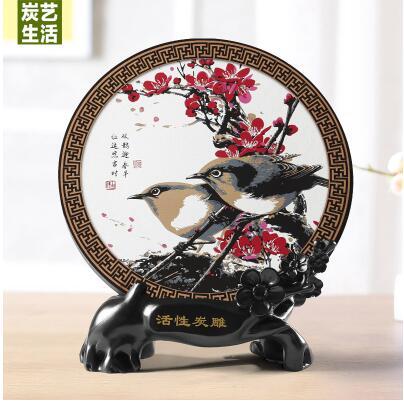 تمثال لوحة السمك الصيني التقليدي ديكور و اكسسوارات