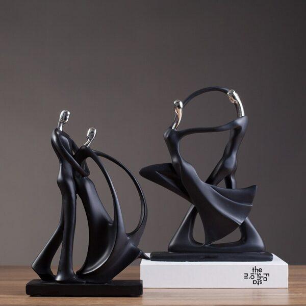 تمثال المغني المجرد للديكور ديكور و اكسسوارات