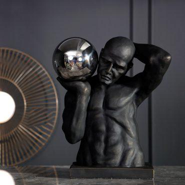 اكسسوار تمثال حامل الكرة المعدنية اكسسوارات منزلية