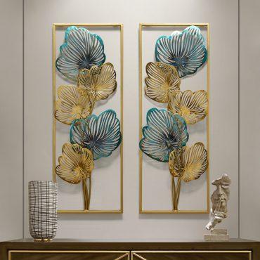لوحة الورق الذهبي المجسم اكسسوارات جدارية