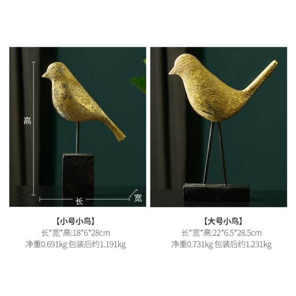 زينة اكسسوارات الورقة الذهبية للديكور اكسسوارات منزلية