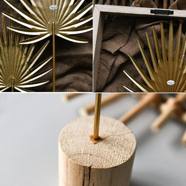 ورق شجرة الموز الذهبي الفاخر ديكور و اكسسوارات