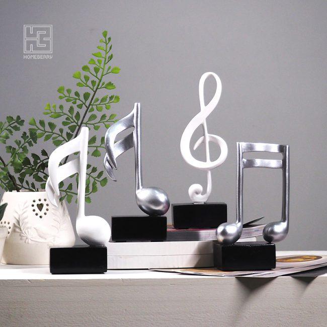 تمثال المقطوعات الموسيقية ديكور و اكسسوارات