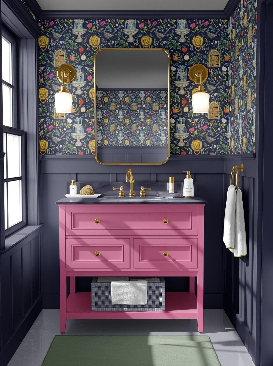 كيفية إضافة عامل الإبهار إلى الحمام