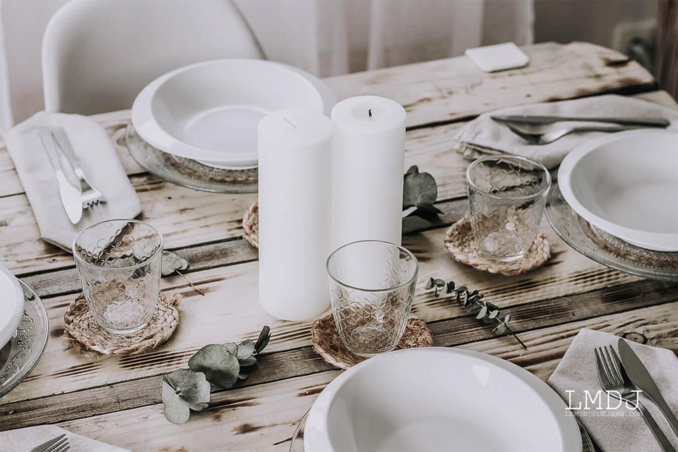 تزيين الطاولة لعيد ميلاد: أفكارنا للصيف