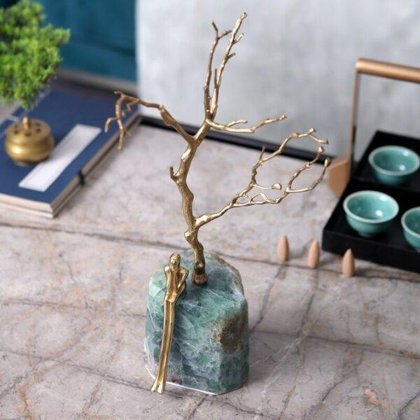 اكسسوار شجرة الصيف الكريستالية اكسسوارات منزلية