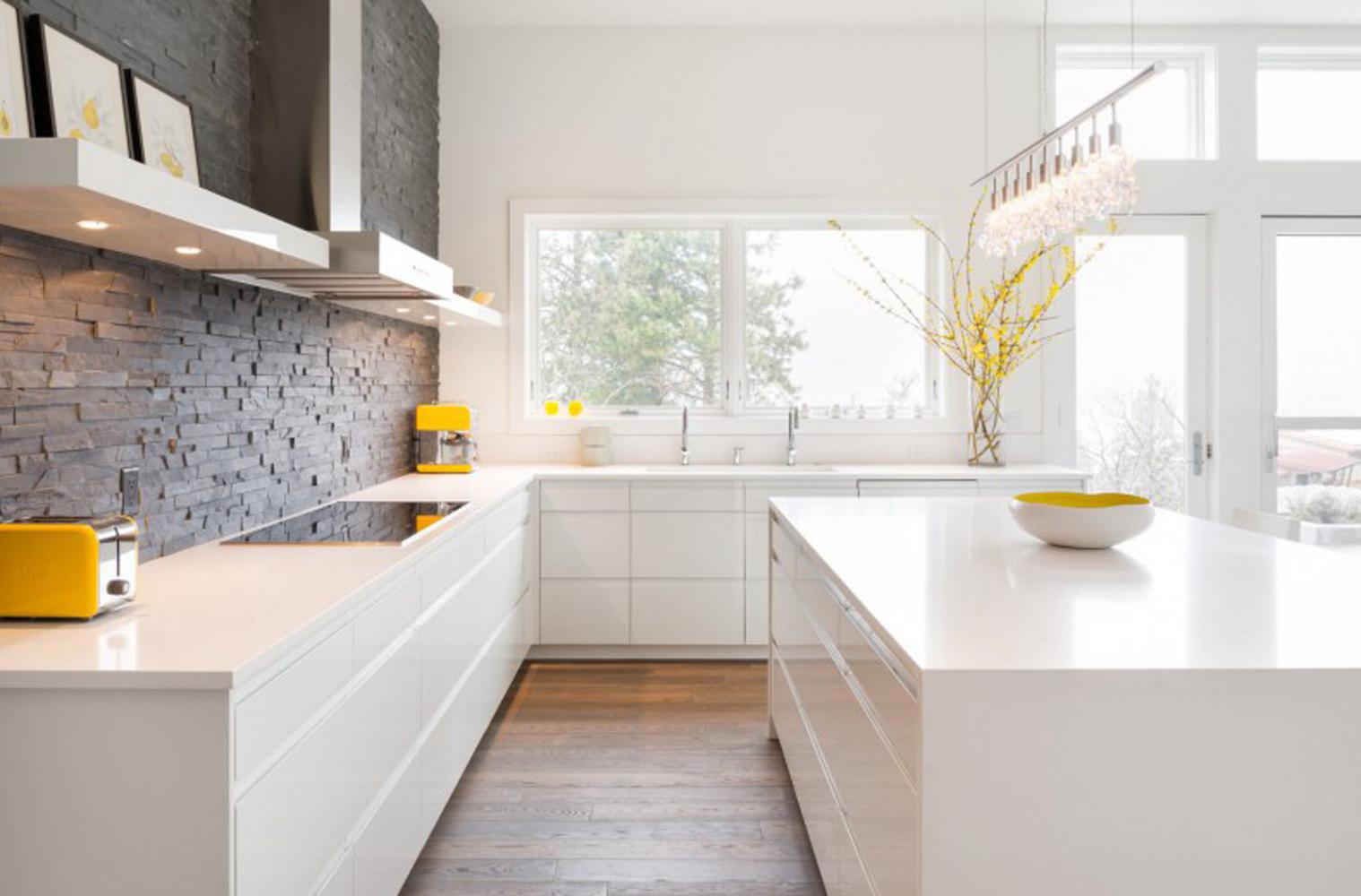 6 أسباب لاختيار مطبخ أبيض