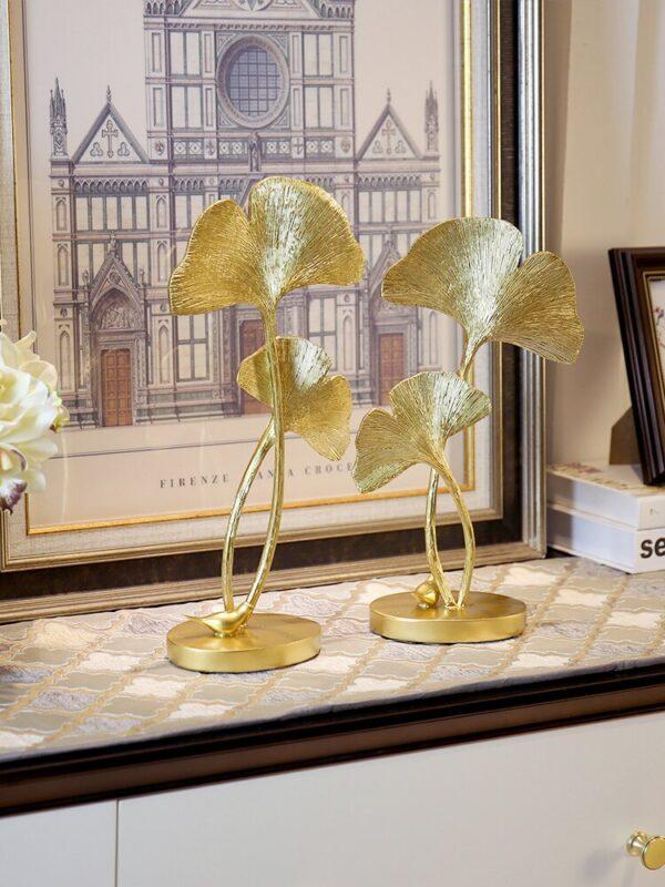 تمثال الفطريات الذهبي ديكور و اكسسوارات