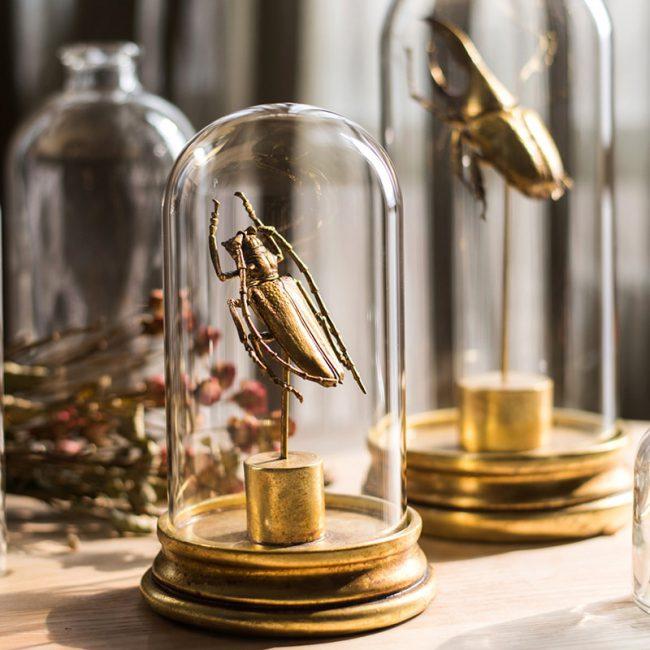ديكور اكسسوار الخنفساء الذهبية اكسسوارات منزلية