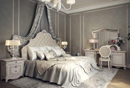 ديكورات غرف النوم الرئيسية الكلاسيكية في منازل المشاهير