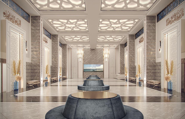 تصميم داخلي لمسجد ممفيس