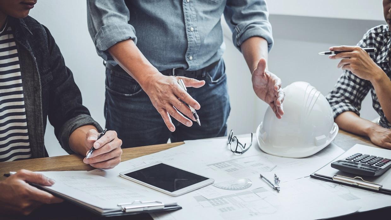 المهندسين المعماريين للمشروع