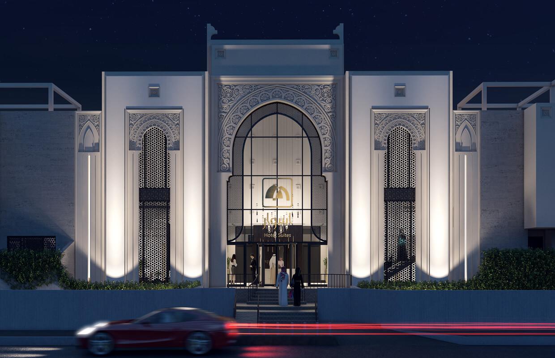 يخلق التصميم المعماري للفنادق انطباعًا استثنائيًا للضيوف