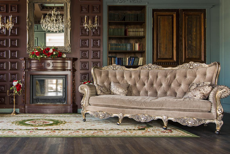 ديكورات صالون كلاسيكية في بيوت المشاهير