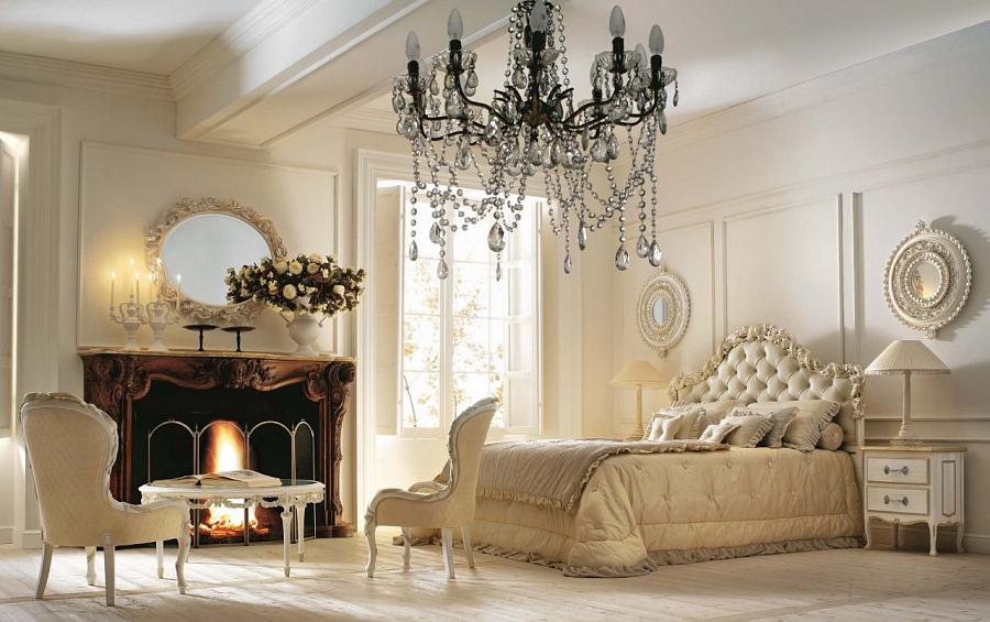 النمط الكلاسيكي في غرفة النوم – كيفية اختيار الأثاث الداخلي لغرفة النوم الكلاسيكية