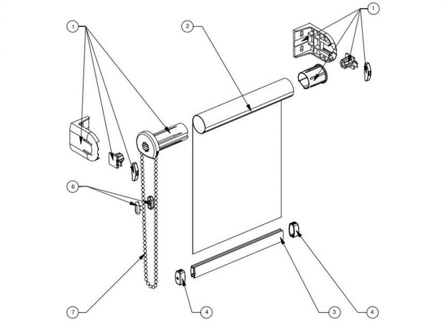 كيفية تثبيت الستائر البلاستيكية بشكل صحيح على النوافذ البلاستيكية ، مع وبدون حفر