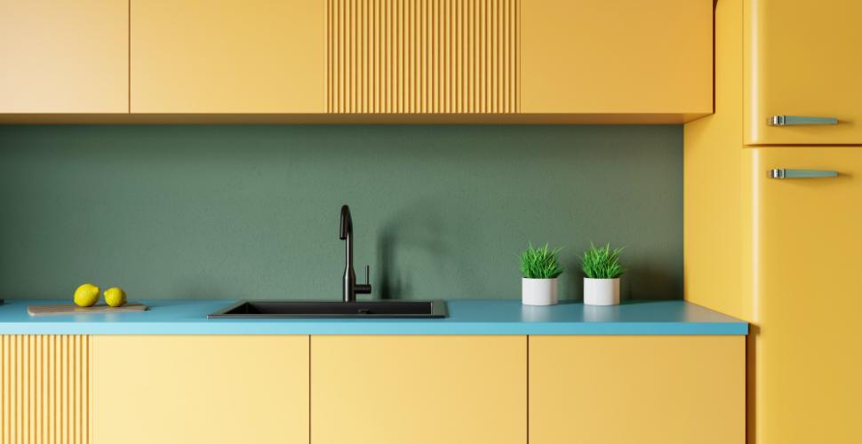 قم بتنشيط مطبخك بلمسات ملونة …