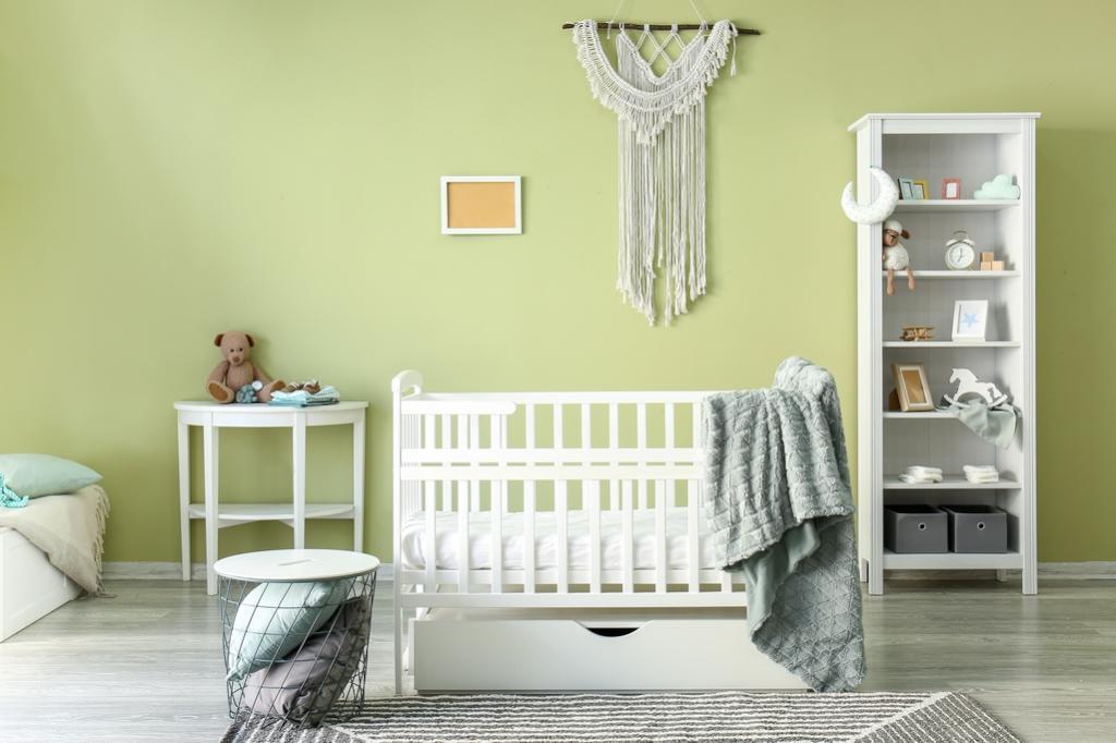 ديكور غرفة الأطفال حديثي الولادة