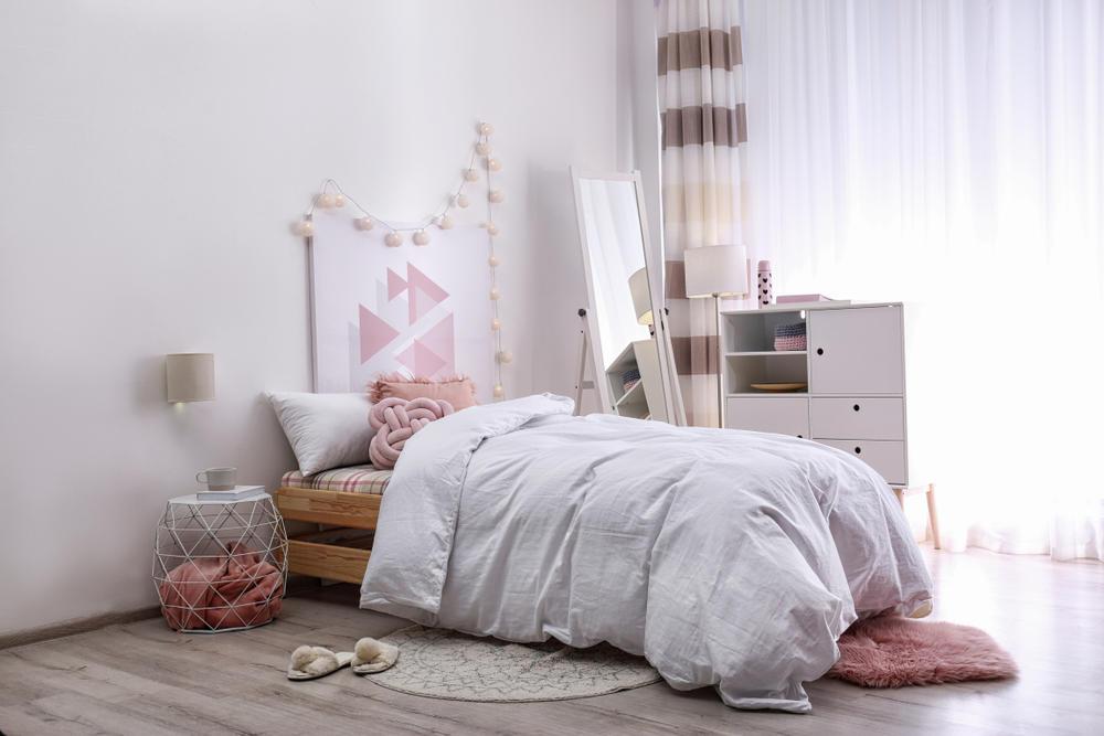 تنسيق ألوان غرف نوم البنات