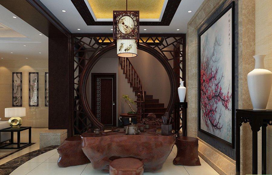 تصميم داخلي على الطراز الصيني – غرفة بتصميم صيني وديكور شقة