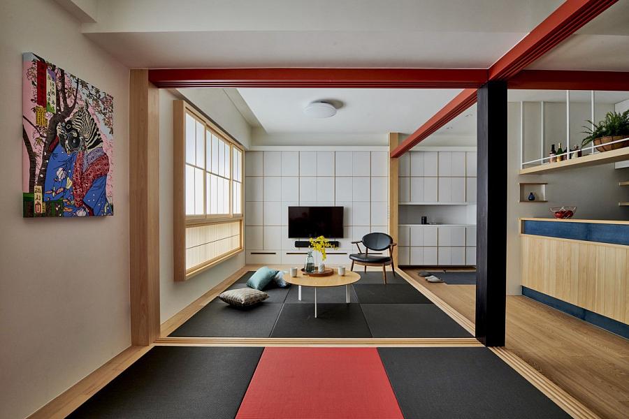 غرفة داخلية على الطراز الياباني - صورة 5
