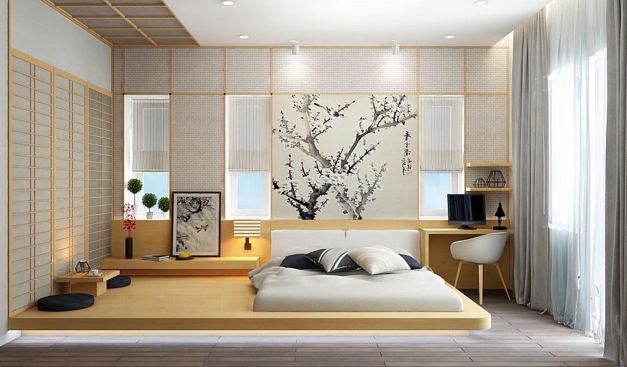 غرفة داخلية على الطراز الياباني - الصورة 6