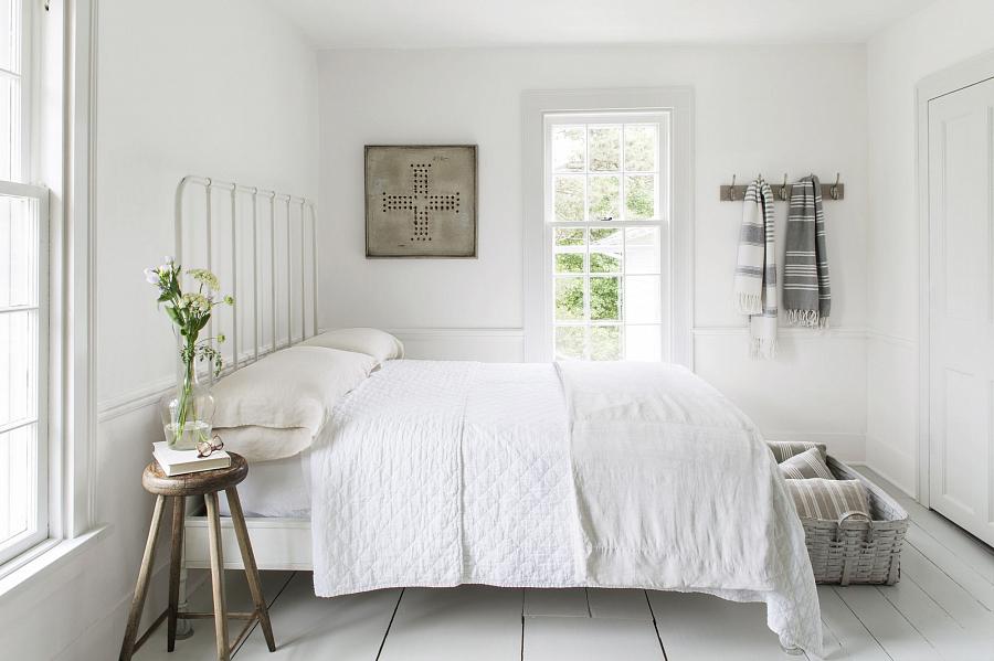 تصميم غرفة نوم مع أثاث أبيض - صورة 3