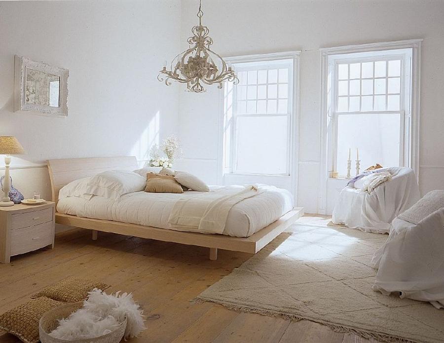 تصميم غرفة نوم مع أثاث أبيض - صورة 6