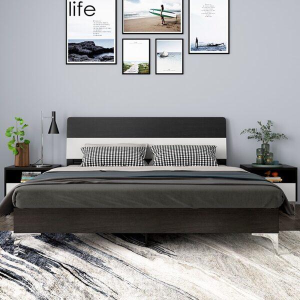 غرفة نوم كريستال الخشبي مفروشات