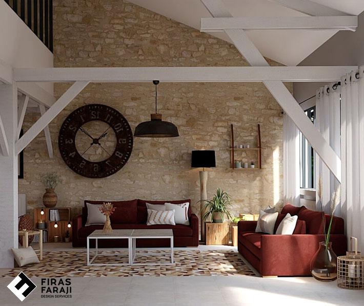 غرفة بعد التصميم