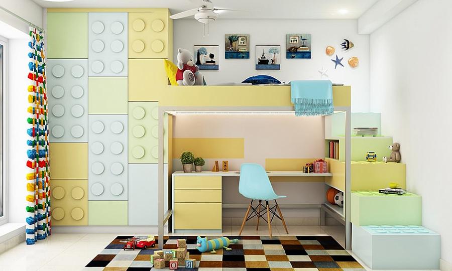 التصميم الداخلي لغرفة الأطفال – أفكار مثيرة للاهتمام لتصميم وترتيب غرفة نوم الطفل