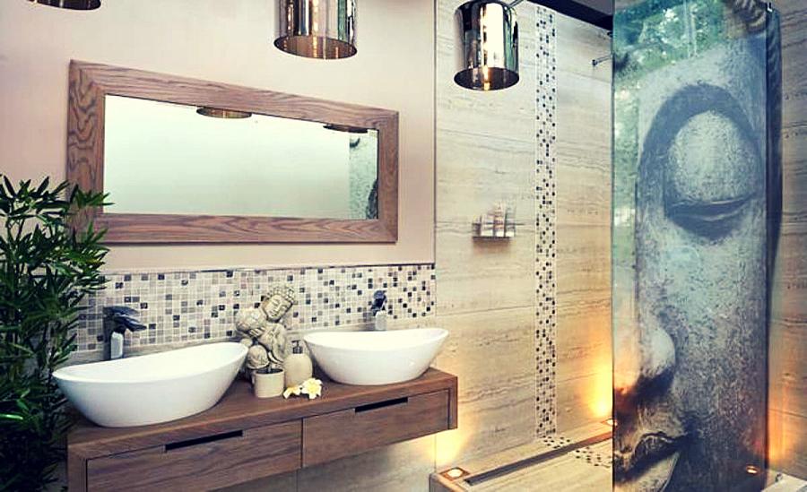 ملامح تصميم الحمام على الطراز الياباني والمغربي والتركي