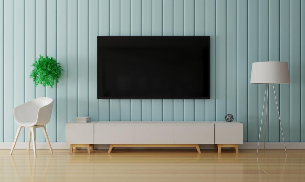 أفكار ديكور لمكان لوضع شاشة التلفزيون