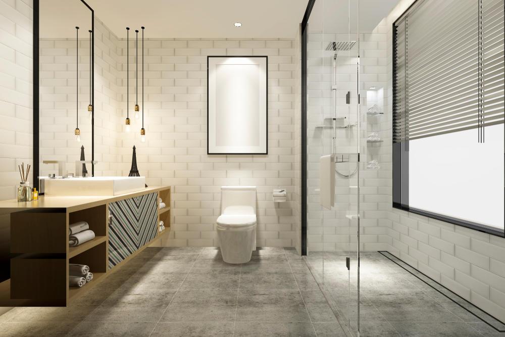 تصاميم حمامات صغيرة وبسيطة |  مجلة سيدتي