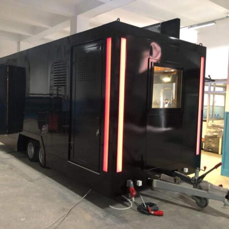 Fast Food Truck , Mobile Restourant & Food Trailer , Römork Büfe مباني جاهزة
