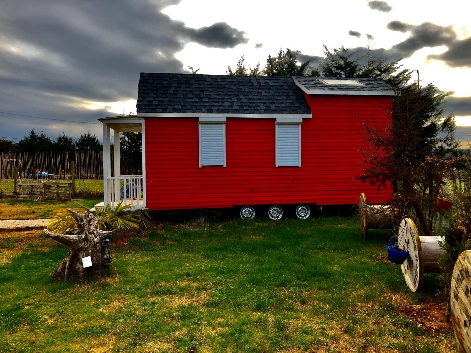 Tinyhouse , Red House , Prefab House , Architecture , Römork Ağaç Ev , Trailer House