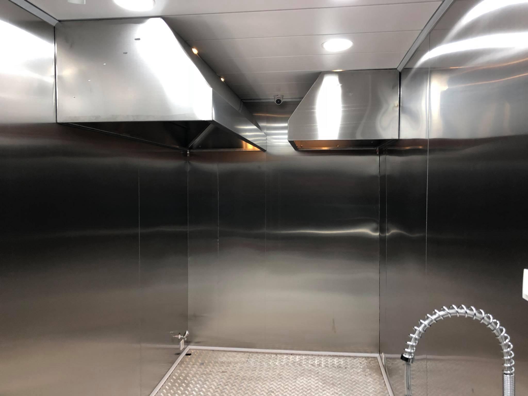 Fast Food Divisible Cabin, Mobil Divisible Restourant ve Bölünebilen Gıda Kabini, Büfe Kabin