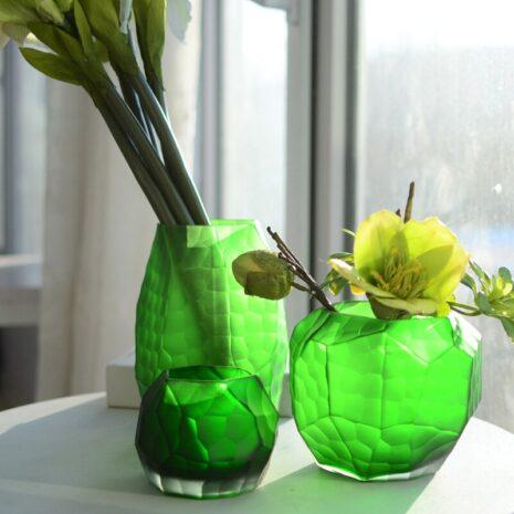 اناء الزجاج المطحون اكسسوارات منزلية